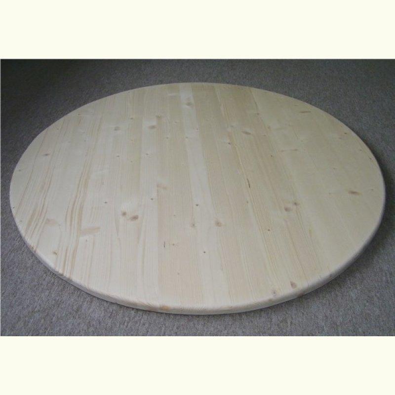 rund tischplatte 27mm 3 schicht naturholz fichte 120cm escher 39 s fassm bel ihr spezialist. Black Bedroom Furniture Sets. Home Design Ideas