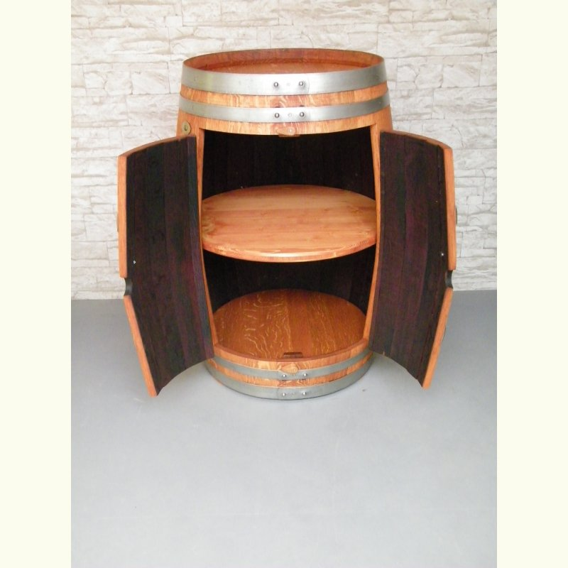 weinfass schrank mit einem zwischenboden escher 39 s. Black Bedroom Furniture Sets. Home Design Ideas