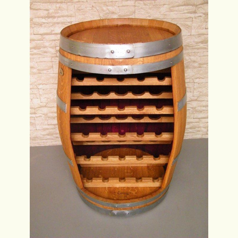 weinfass weinregal mit eichenholzmodulen f r 25 flaschen escher 39 s fassm bel ihr spezialist. Black Bedroom Furniture Sets. Home Design Ideas