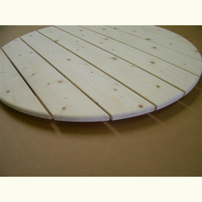 runde tischplatte aus eichenholz 45mm stark escher 39 s fassm bel ihr spezialist f r. Black Bedroom Furniture Sets. Home Design Ideas